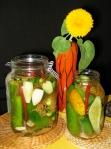 homemade garden pickles